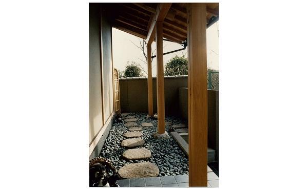 庭 飛び石