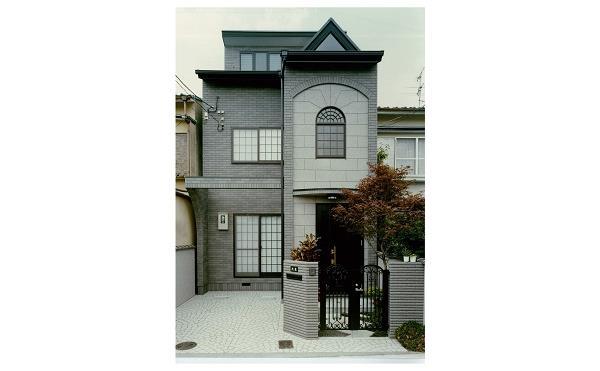 お洒落なデザインの家