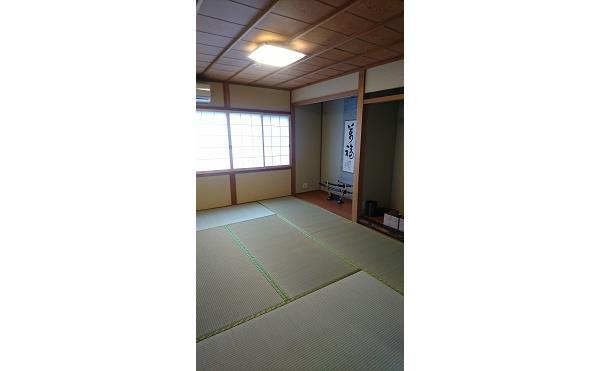 床の間 紅葉 和室